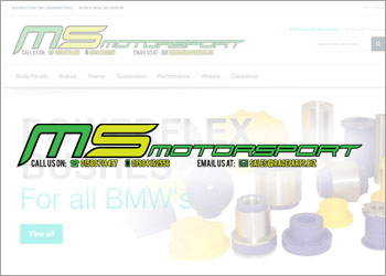 MS Motorsport has a new website